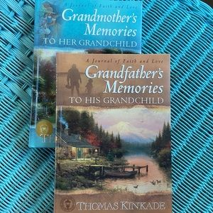Thomas Kincade grandparent memory books